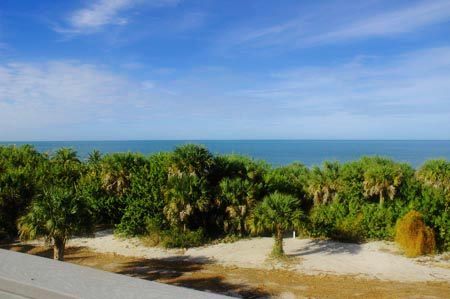 gulffront home views on North Captiva Island